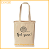 Grey recyclable shopping cotton bag cotton tote bag canvas tote bag