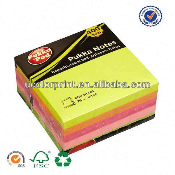 promotional hard cover memo pad made in china