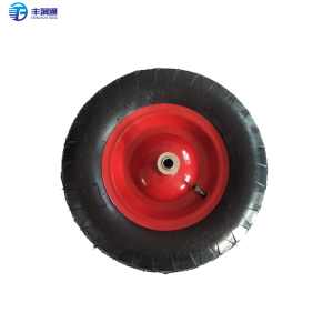 400-8 natural rubber pneumatic wheels no flat casters