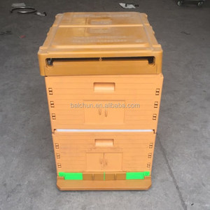 Beehive House of Plastic Langstroth Bee Hive Wholesale from China