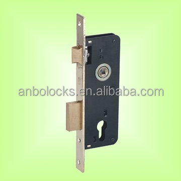 Italian Mortise Deadbolt And Latch Door Lock With Cylinder