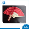 Custom Folding Red Hand fan With Your Own Design Folding Fans