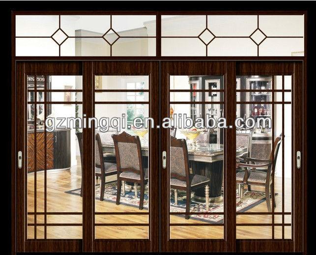 Balc n puertas correderas de vidrio templado marco de - Puertas correderas de vidrio templado ...