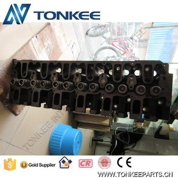 Engine parts D6D 2012 cylinder head & EC210B cylinder head
