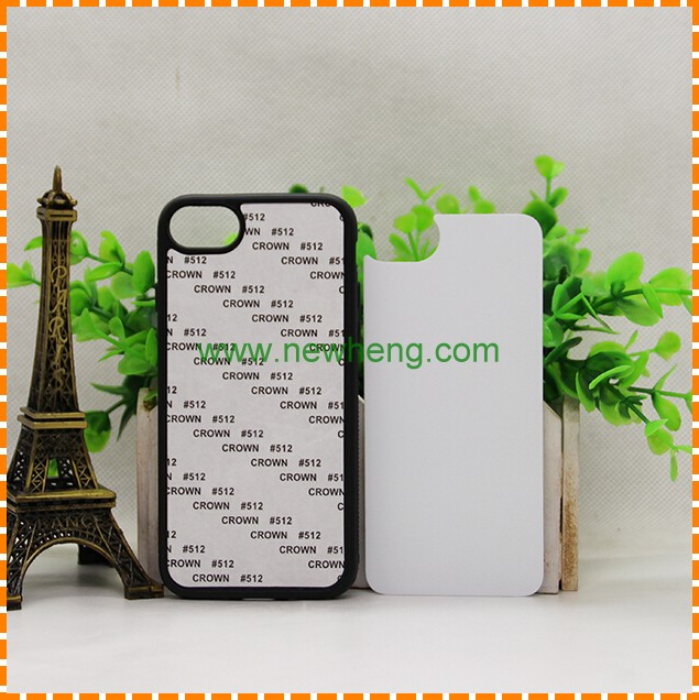 Blank 2D Sublimation Rubber Case For iPhone 5 5s 5c 6 7 Back Cover TPU Case
