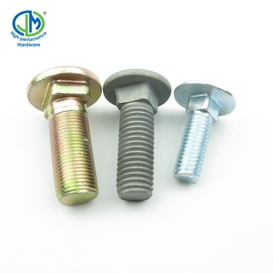 Best Price High Strength Geomet 500B DIN 603 M4 Round Head Square Neck Carriage Bolt