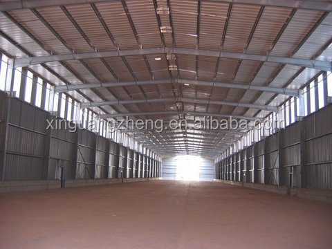 2014 Modern Design Construction Prefabricated Steel Structure Warehouse