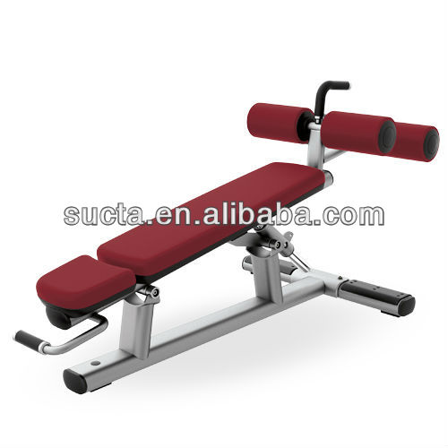commercial bodybuilding machine, Adjustable Decline/Abdominal Bench