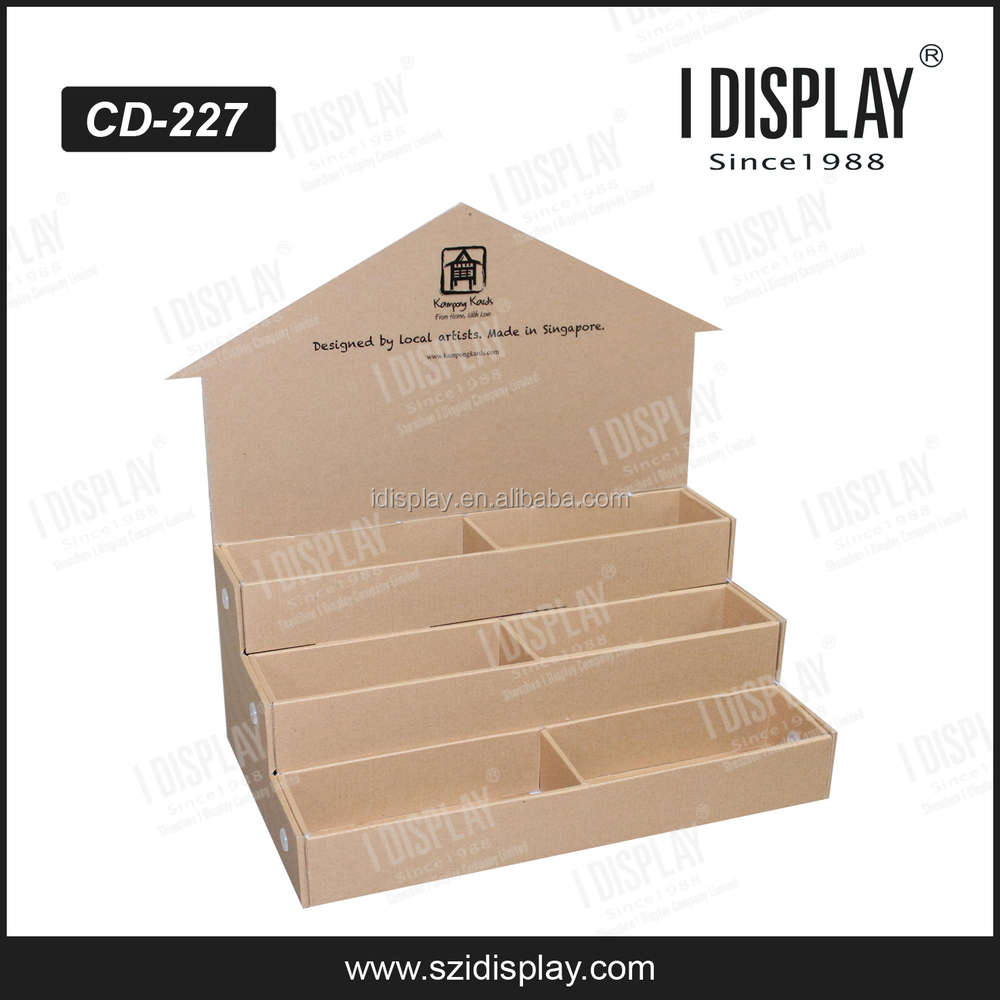 point of sale display template - pop small cardboard box pop template counter display box