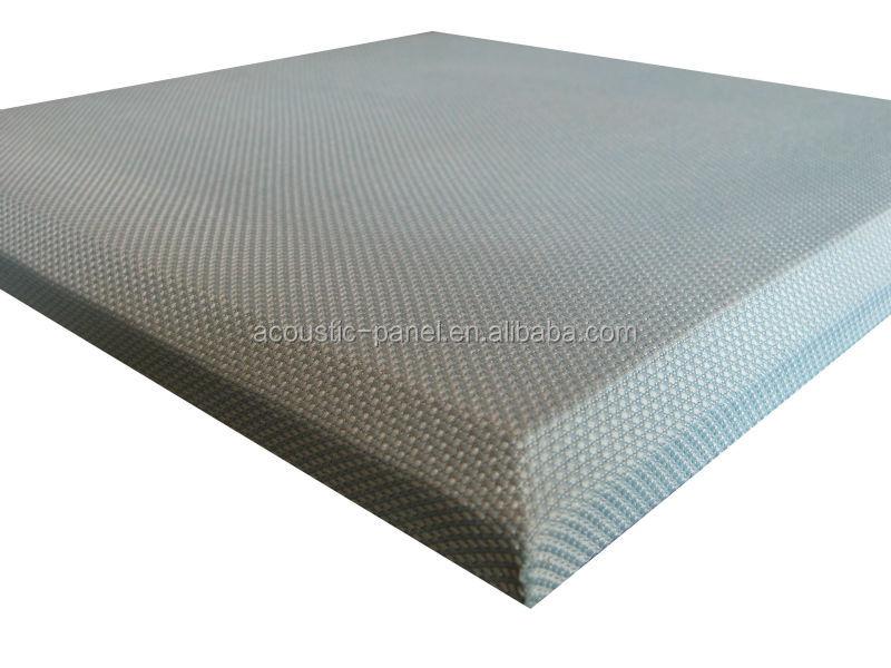 gris tissu envelopp ignifuge en fiber de verre mousse acoustique panneau insonoris es carte. Black Bedroom Furniture Sets. Home Design Ideas