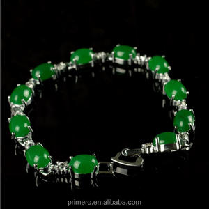 Fashion green jade bracelet style Fine jewelry Noble Natural jade bangle