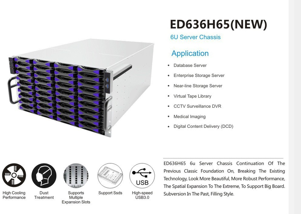 6u Server Case huge chassis