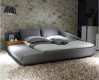 2016 Latest new queen size modern bed on promotion B28