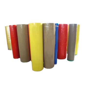 colors and activated adhesive type packing tape jumbo big rolls