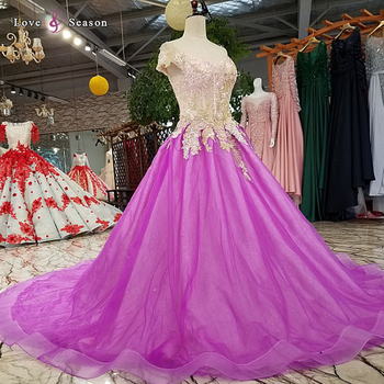 0c91899f4cf0 LS5198 off shoulder elegant long purple dress for wedding guest dresses  modern evening dress gown