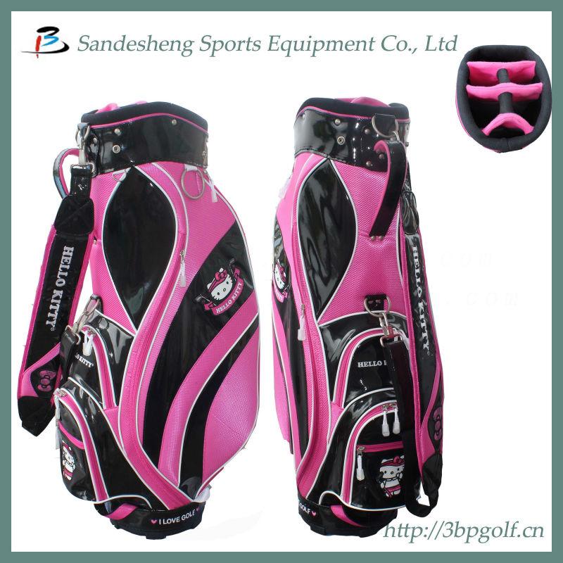 O Kitty Golf Cart Bag Las Pink Product On Alibaba