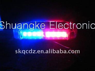 Police Car Roof Light Led Red Blue Colors Warning Light Bars(lbut ...