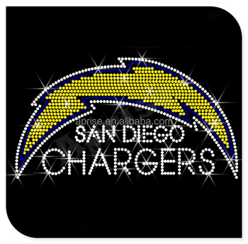 Football Team San Diego Chargers Wholesale Iron On