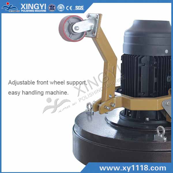 high speed concrete floor grinder polishing machine with 15kw