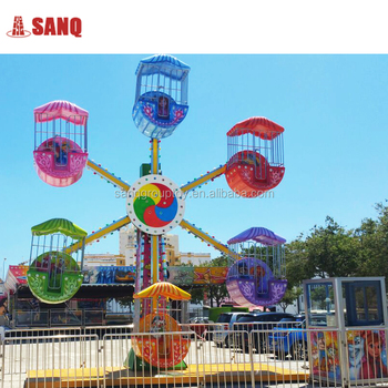 outdoor decorative christmas kids mini ferris wheel for sale
