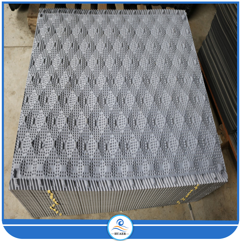 1000 Width 800mm Length cooling tower pvc film fill media