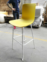 modern restaurant leisure dining plastic chair factory price