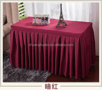 100 polyester wedding table skirtingbuffet table skirtingmeeting 100 polyester wedding table skirtingbuffet table skirtingmeeting table skirting watchthetrailerfo
