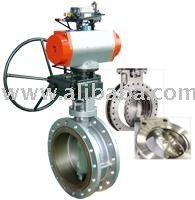 Triple Offsetbutterfly valves