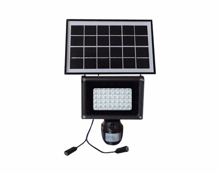 IP65 Wall Mounted Solar Powered No Wire Outdoor Light With Camera
