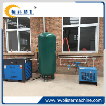 22kw screw air compressor machine prices for thermoforming machine