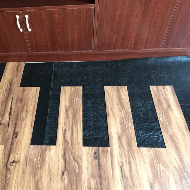 Noise Insulation Wood Grain Rubber Flooring For Indoor Places Buy