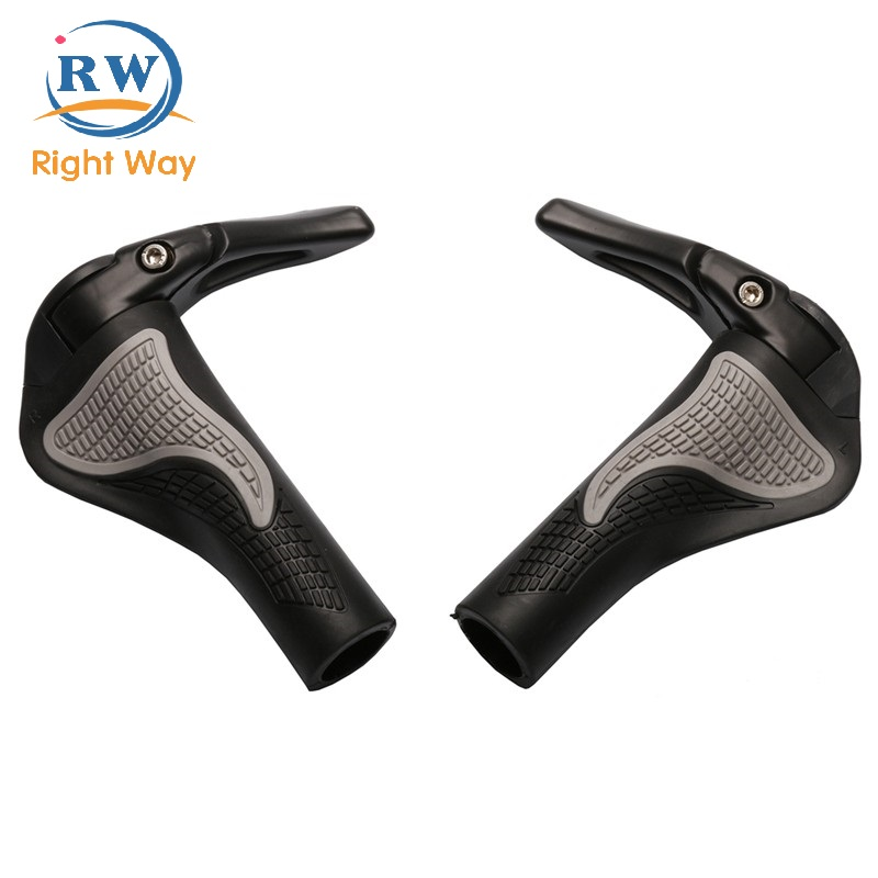 Wholesale Bike Parts Fashionable PU Leather Bike Bicycle Handle Bar Grips