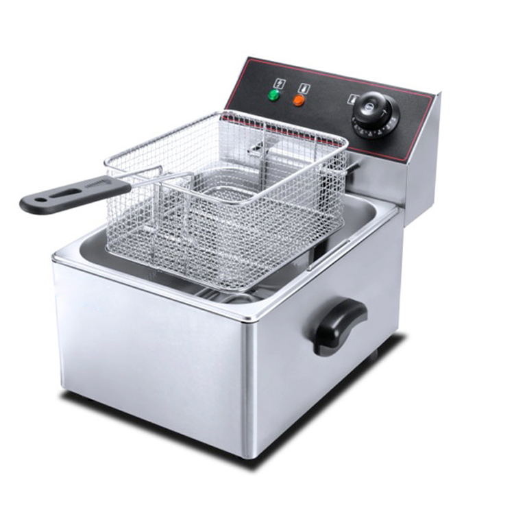 Sunny Stainless Steel 2 Tanks Electric Deep Fryer Commercial Electric Fryer French Fries Fried Chicken Deep Frying Furnace Wk-82 Home Appliances