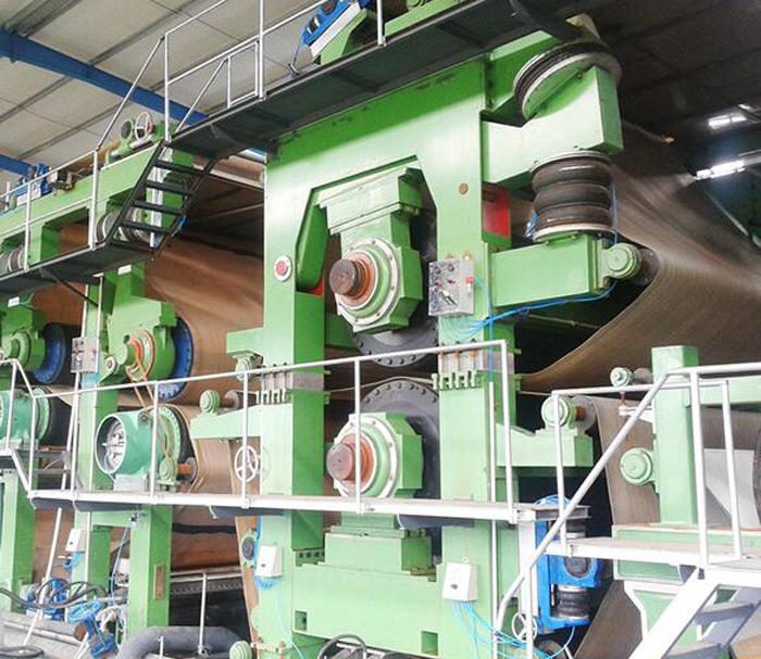 fluting paper machine