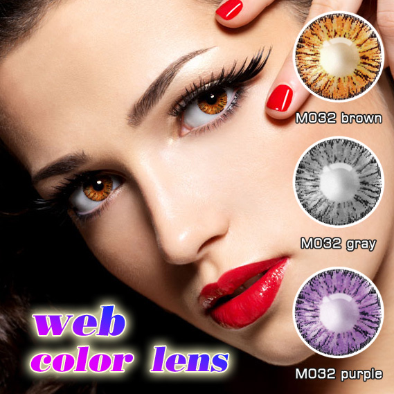 1 year 3 tone wholesale yearly cheap colored contact lenses