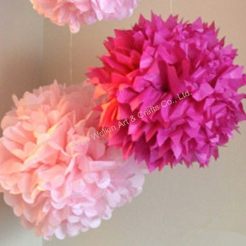 how to make paper pom poms for cheerleading