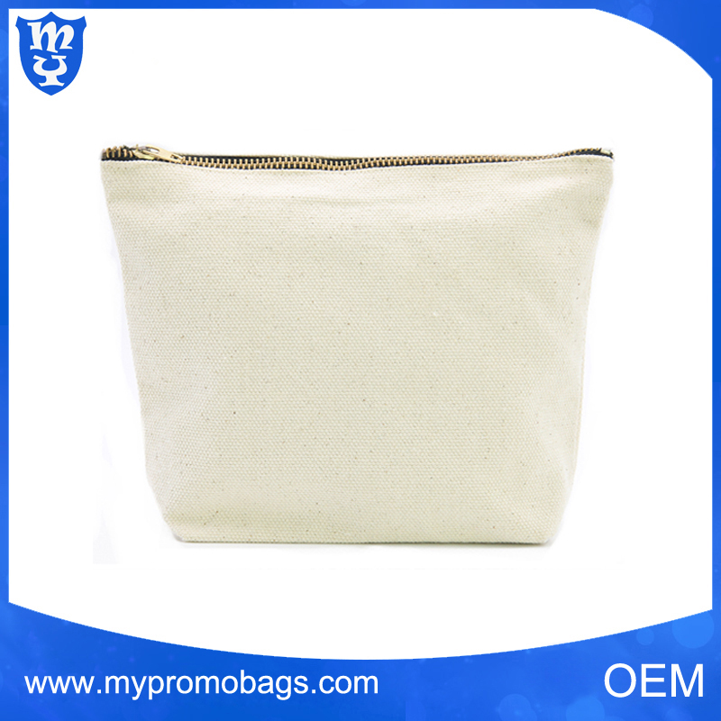 Popular Private Lable Cosmetic Bag Wholesale Canvas Cosmetic Bag Makeup