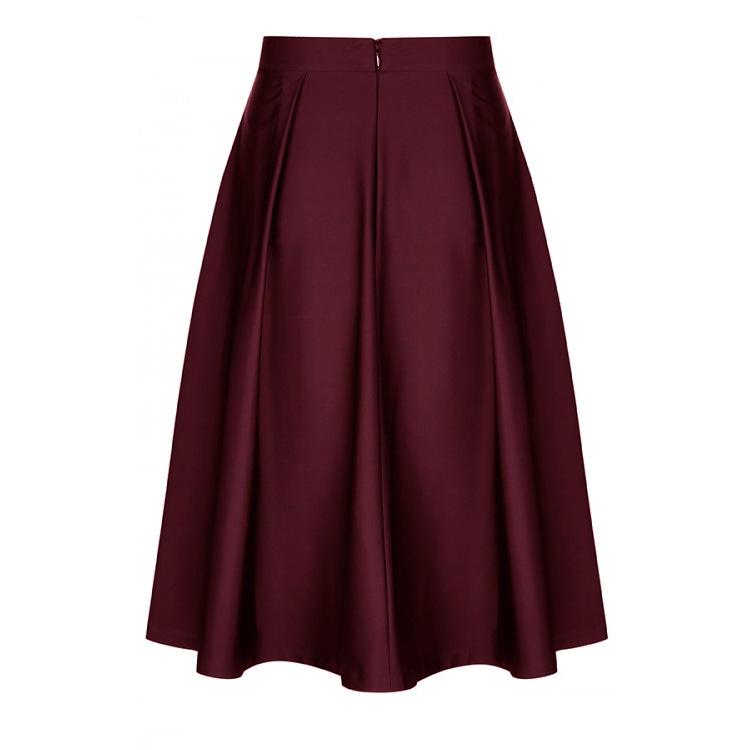 9fe2f9519015 Venta al por mayor estilos de faldas para dama-Compre online los ...