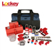 Free Collocation Industrial Safety Electrical Portable Lockout Tool Kit
