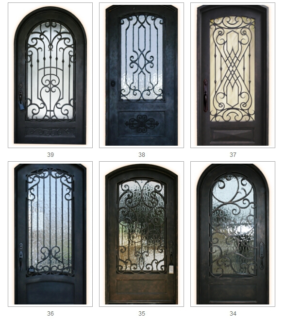 Disenos de puertas de metal pictures to pin on pinterest for Puertas rusticas de herreria