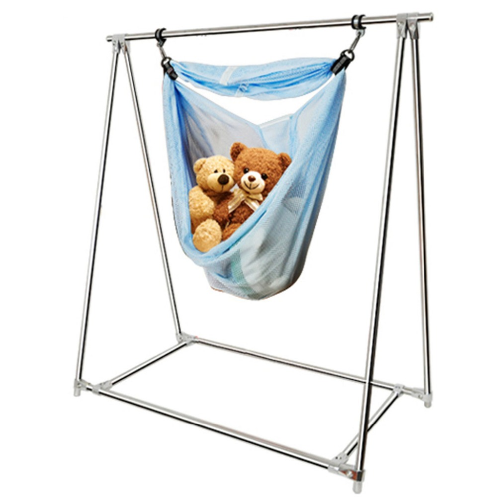 Baby Cribs Mother & Kids Honest Infant Newborn Baby Hammock Safety Baby Crib Baby Cradle Cute Swing Bed Detachable Portable Folding Garden Hammock 100x70cm Outstanding Features