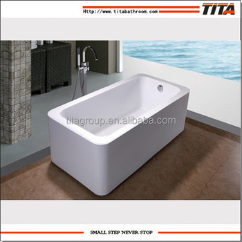 Cheap Freestanding Plastic Portable Bathtub For Adults