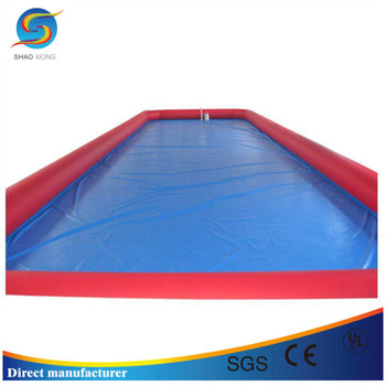 customized big inflatable pool inflatable rectangular pool largest inflatable pool - Rectangle Inflatable Pool
