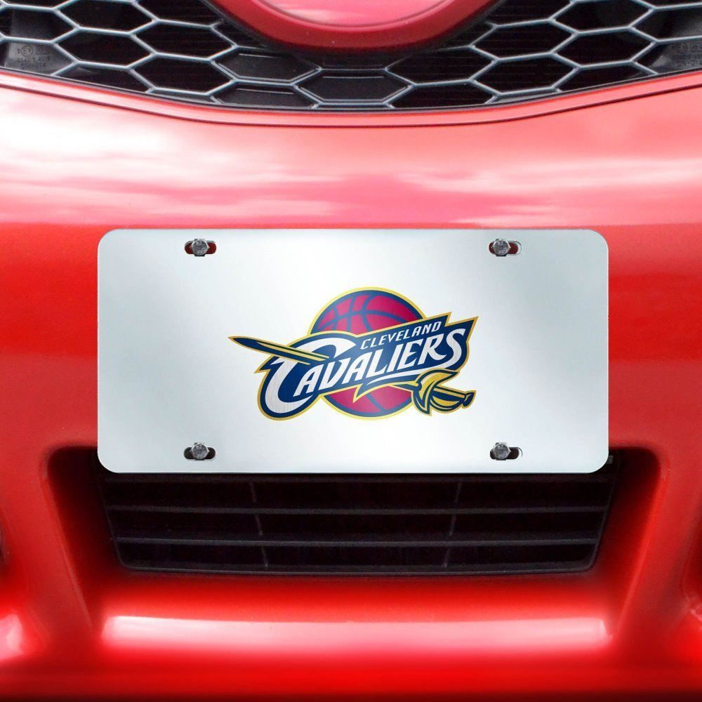 Fan Mats NBA Cleveland Cavaliers License Plate Inlaid