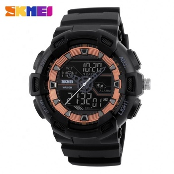 SKMEI new fashion 1189 japan movt quartz watch digital sport watch for couple