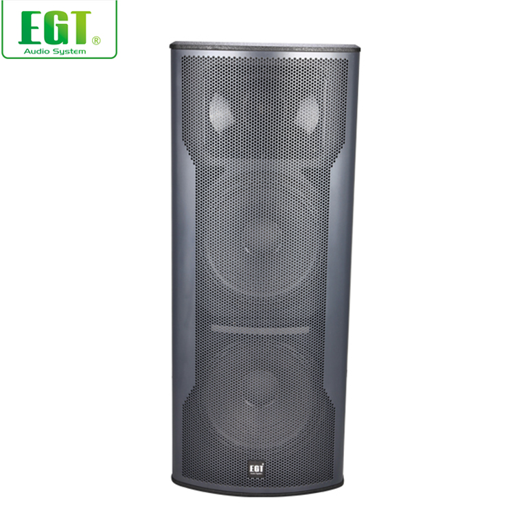 Outdoor performance DJ equipment 1000W loudspeaker full range passive speaker
