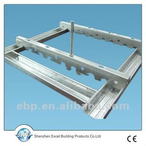 metallic frame/channels/metal steel low construction price