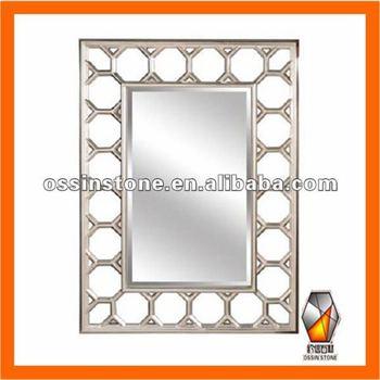 Modern Pu Wall Mirror Frame For Decorative - Buy Mirror Frame,Mirror ...