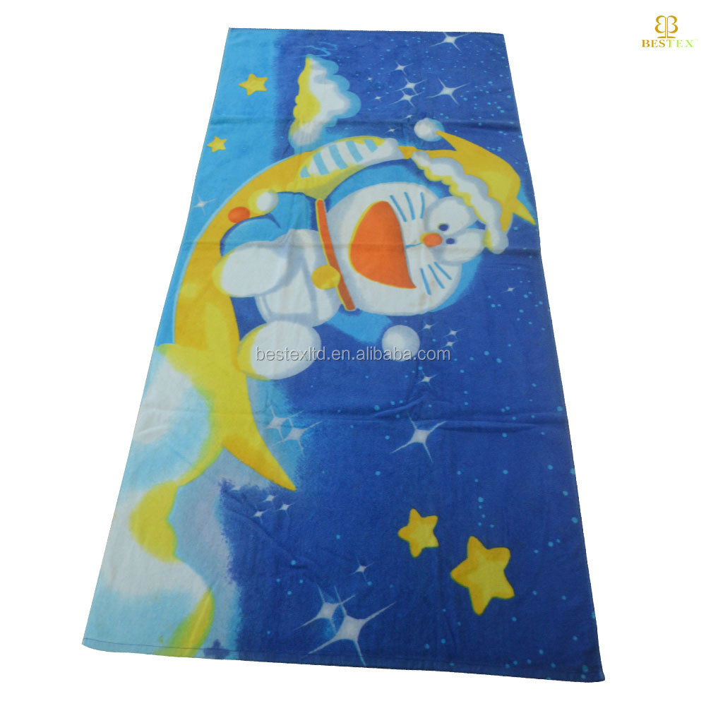 Wholesaler Custom Printed 100%Cotton Beach Towel direct buy china