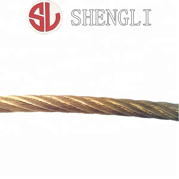 K6*19+IWS Copper Coated Steel Wire Rope